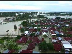 Banjir Wajo Sulsel, 9 Kecamatan dan 78 Desa Terdampak
