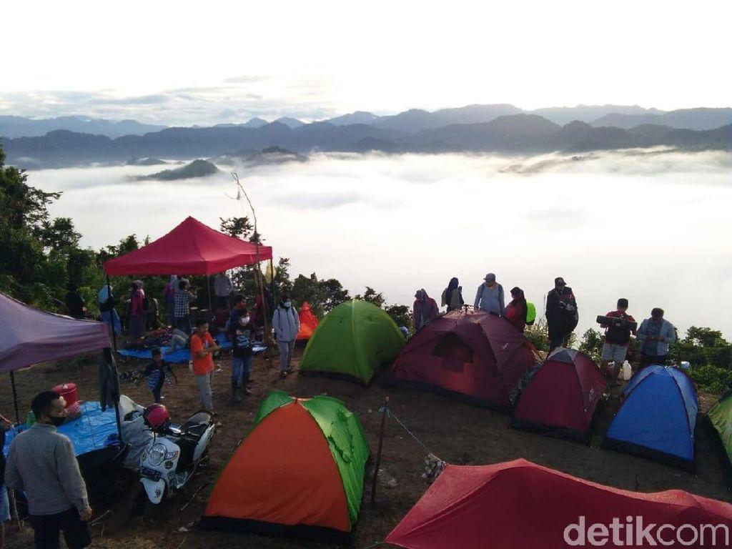 Negeri di Atas Awan yang Viral dari Sulawesi