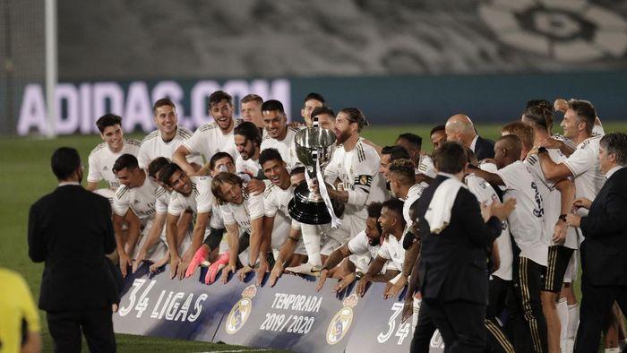 Hasil Dan Klasemen Liga Spanyol Pekan 37 Barcelona Kalah Madrid Juara