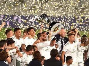 Mental Juara Madrid Tetap Berkobar Meski Kehilangan Ronaldo