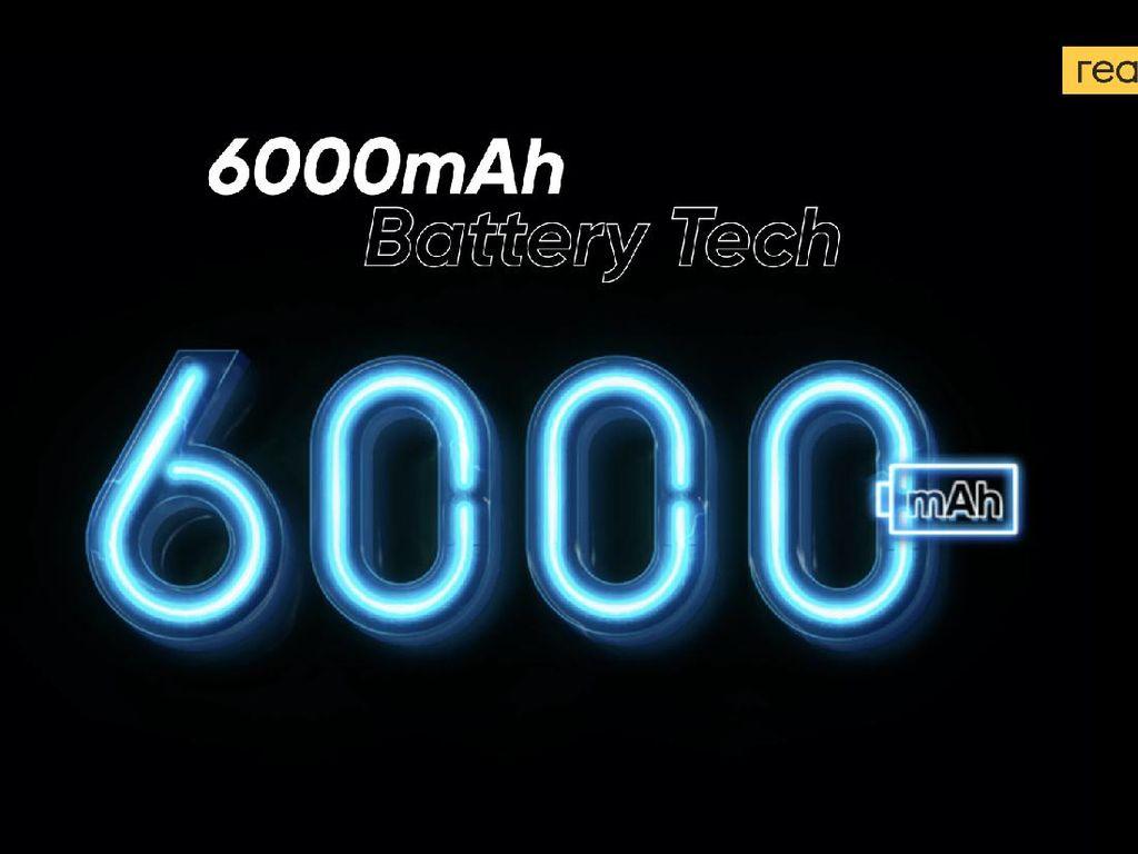 Realme Bakal Rilis HP Baterai 6.000 mAh dan TV Pintar