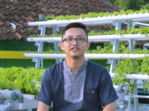 Mantap! Sarjana Psikologi Ini Pilih Jadi Petani Sayur