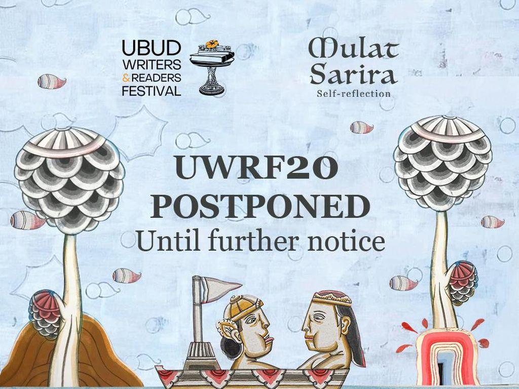 Ubud Writers and Readers Festival 2020 Ditunda karena Corona Belum Mereda