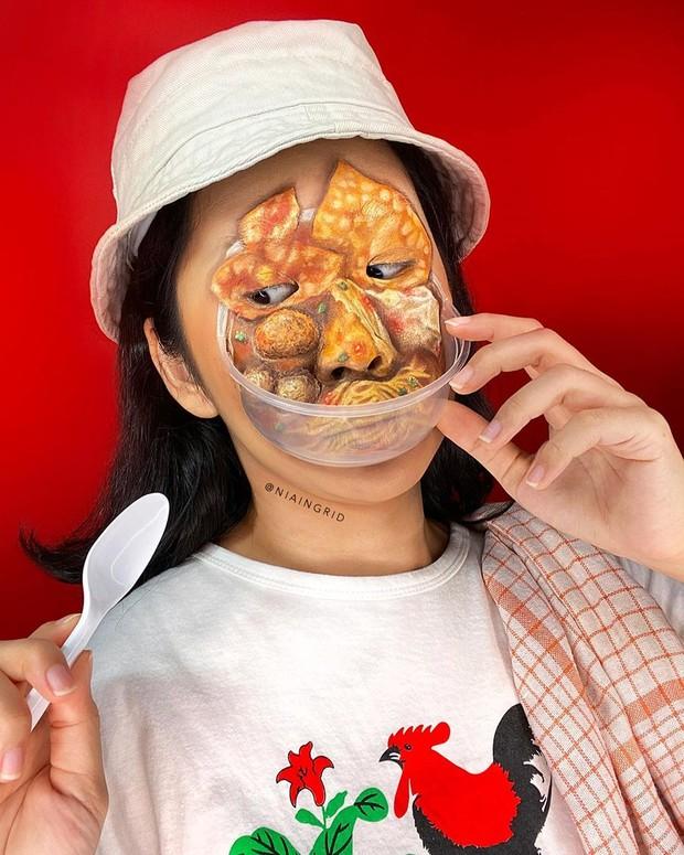 Makeup terinspirasi dari makanan ala MUA Nia Ingrid