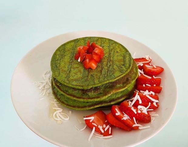 matcha pancake merupakan inovasi terbaru