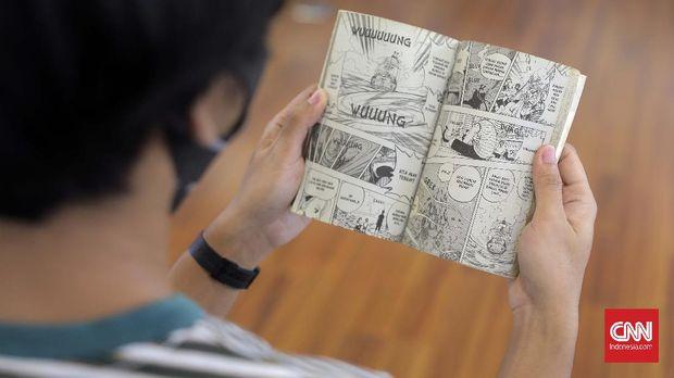 Ilustrasi Komik One Piece