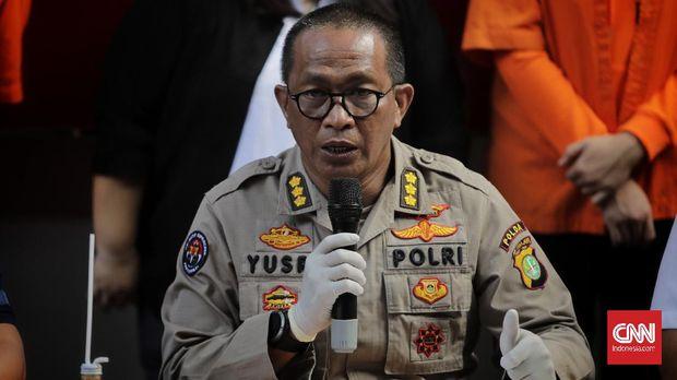Kabid Humas Polda Metro Jaya Kombes Yusri Yunus. Jakarta, Sabtu, 18 Juli 2020.