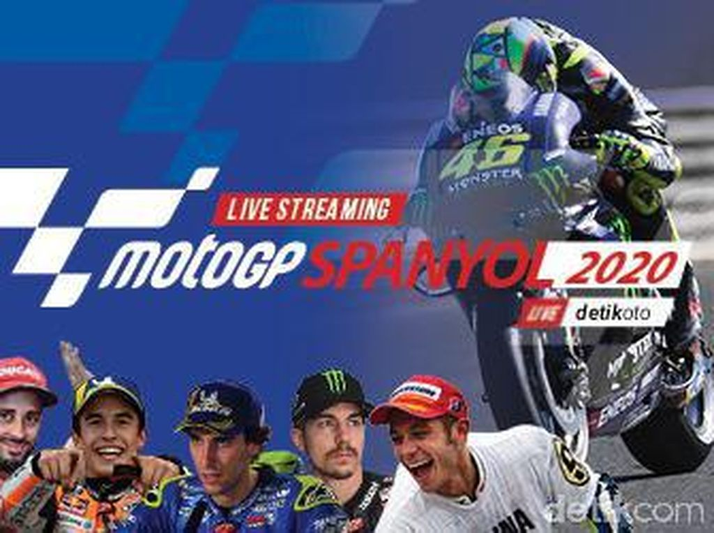 Honda Vs Yamaha Sengit di Jerez: Tonton Live Streaming MotoGP Spanyol di detikOto