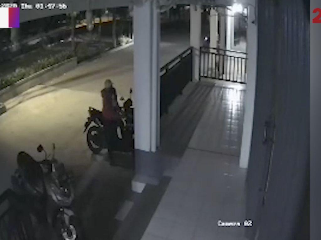 Maling Motor di Bekasi: Panik Tepergok, Motor Sendiri Ditinggal