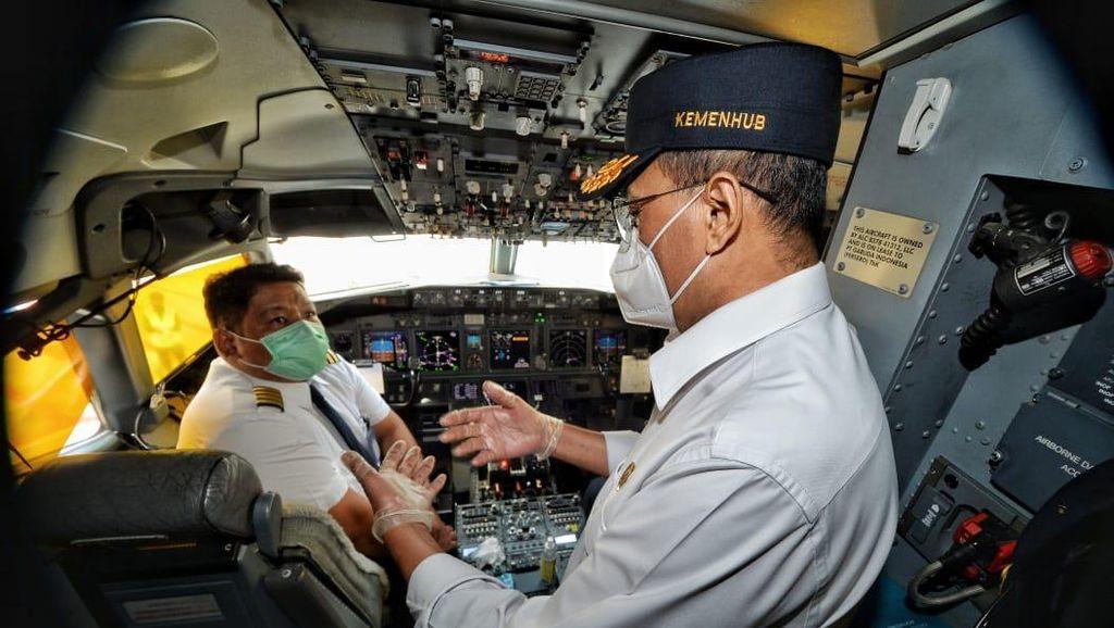 Menhub Ajak Stakeholder Ciptakan Penerbangan yang Aman dan Sehat