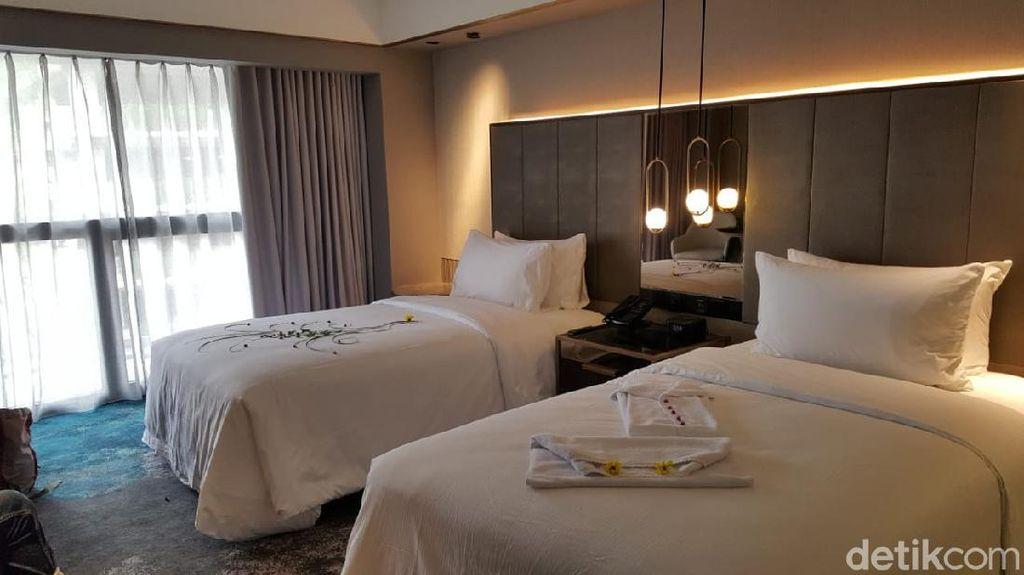 Foto: Menjajal Protokol Kesehatan Menginap di Hotel Jakarta