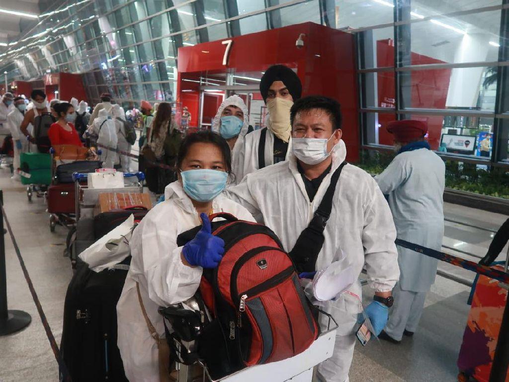 KBRI Fasilitasi 47 WNI yang Tertahan Lockdown di India Pulang ke Tanah Air