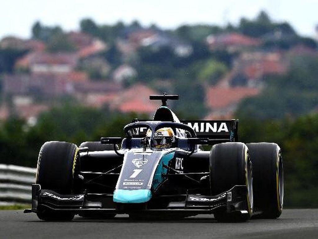 F2 Hongaria: Start Posisi 9, Bisakah Sean Dapat Poin di Feature Race?