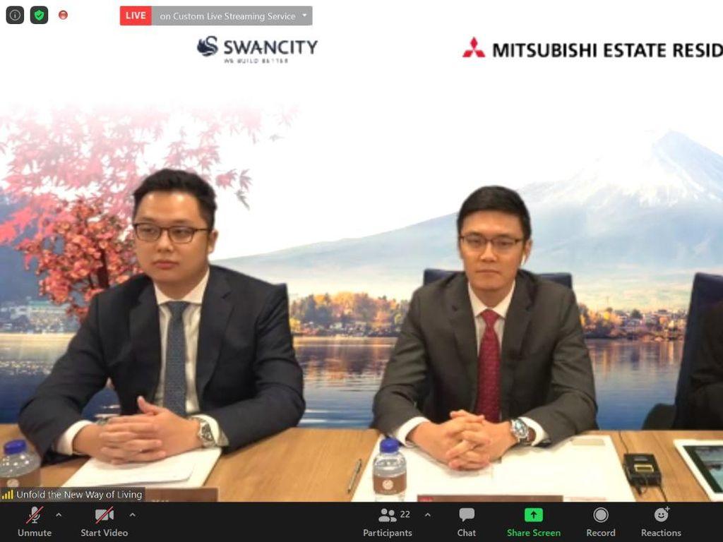 Swancity-Mitsubishi Garap Kota Kecil Ala Jepang di Tangerang