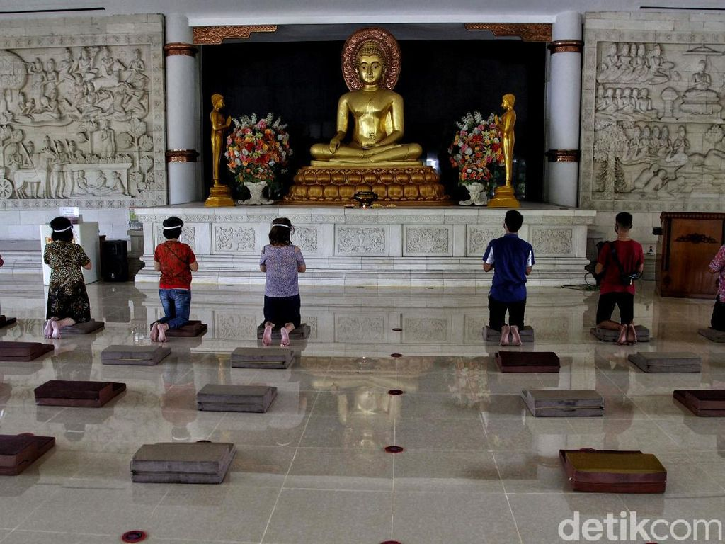 Vihara Budha Sasana Ketat Terapkan Protokol Kesehatan