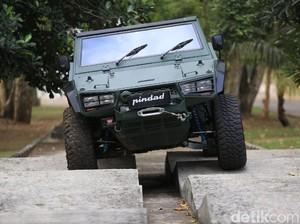 Joss! KASAD Kini Punya 40 Mobil Taktis Maung