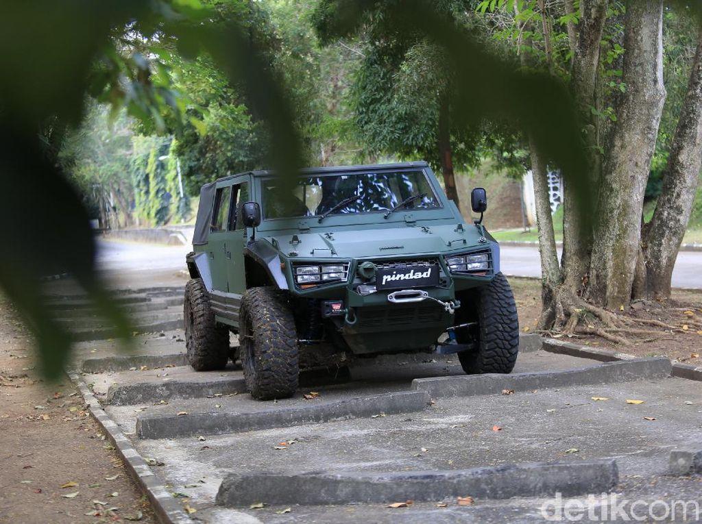 Maung Pindad Versi Sipil Bakal Pakai Mesin Hilux, Ini Tanggapan Toyota