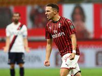 Bennacer Persembahkan Gol Debut di Milan untuk Istrinya