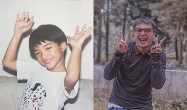 potret masa kecil Ricky Harun pemain sinetron Ganteng Ganteng Serigala