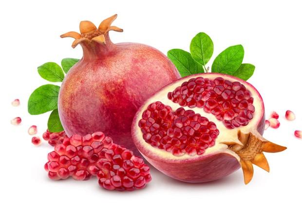Biji buah delima