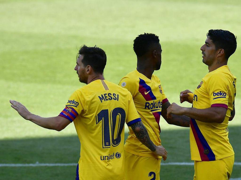 Alaves Vs Barcelona: Messi Dua Gol, Los Cules Menang Besar