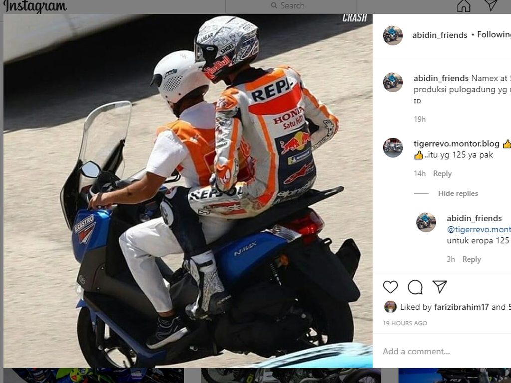 Spesifikasi Nmax yang Tolong Alex Marquez Setelah Jatuh, Harganya Rp 59 Juta