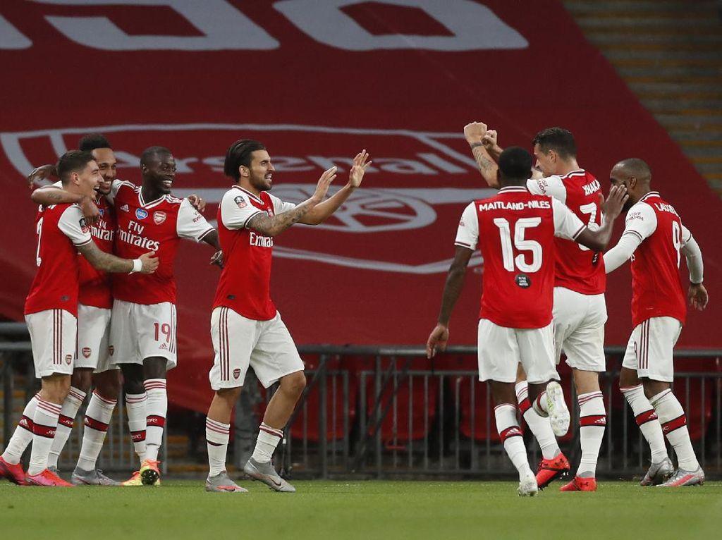 4 Pemainnya Dikarantina, Arsenal Tak Ideal Jalani Community Shield