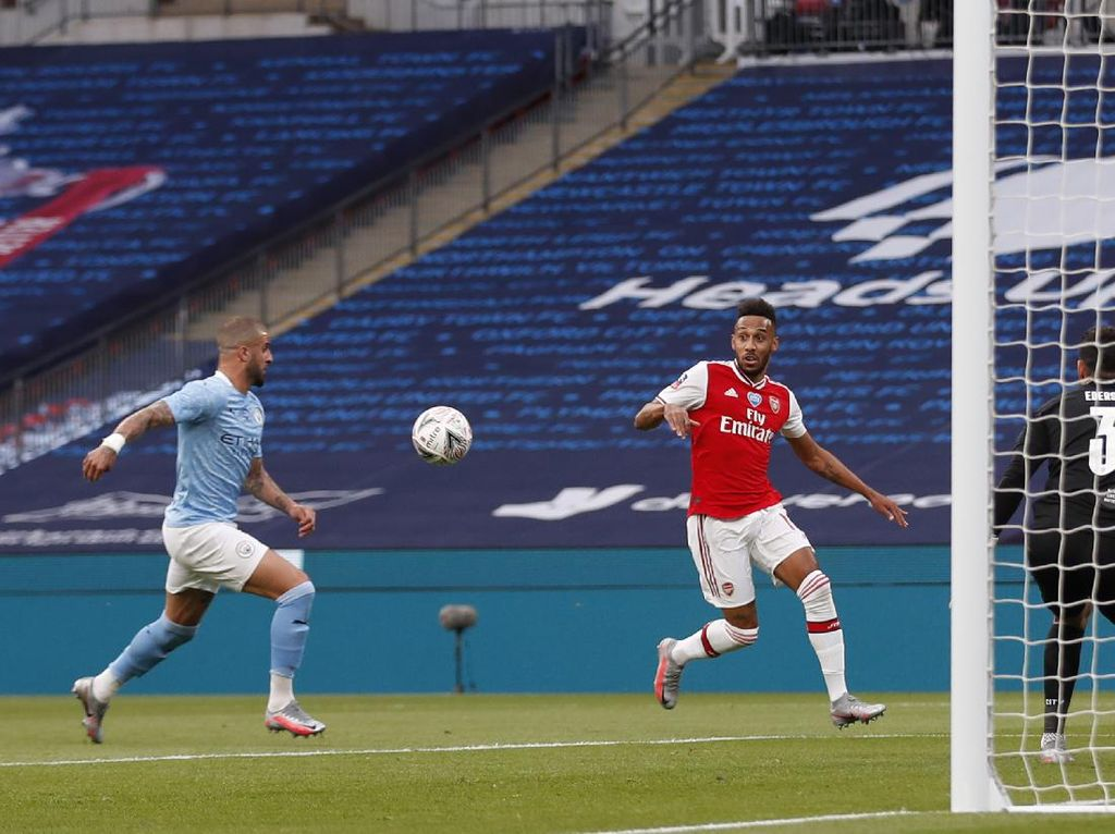 Semifinal Piala FA: Arsenal Ungguli City 1-0 di Babak Pertama
