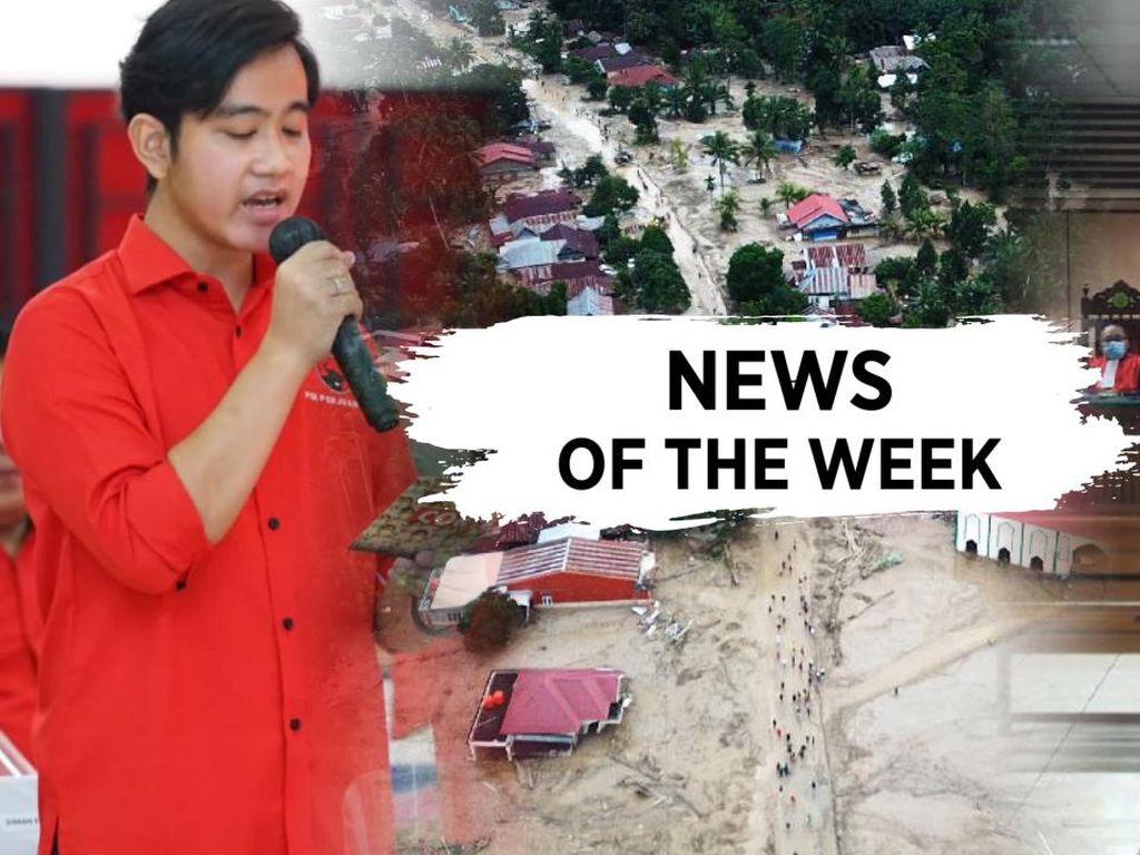 Banjir Bandang Luwu Utara, Gibran Diusung PDIP di Pilkada Solo