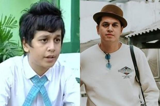 potret masa kecil Kevin Julio pemain sinetron Ganteng Ganteng Serigala