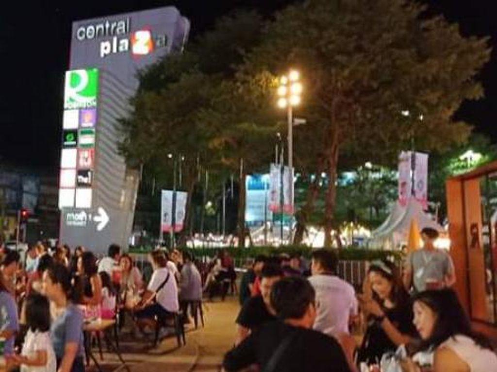 Foto: Makin Malam Makin Meriah di Thailand