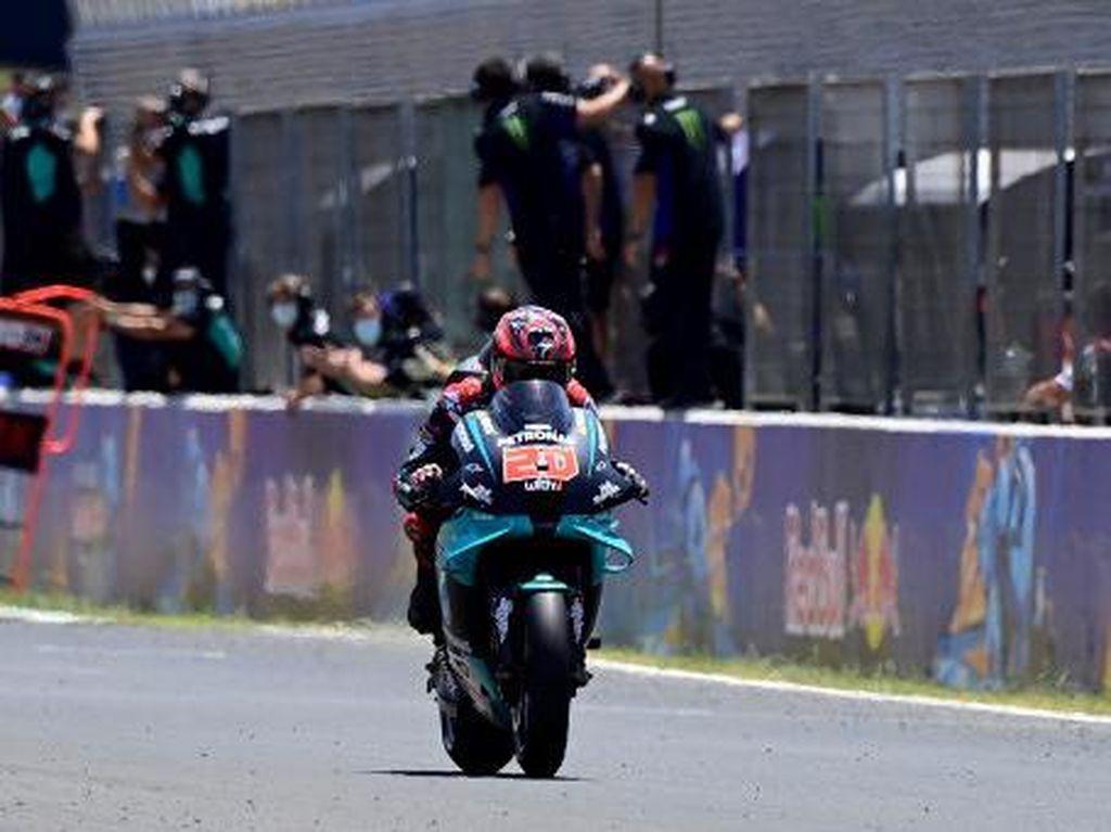 Hasil Latihan Bebas I MotoGP Emilia Romagna: Quartararo Terbaik
