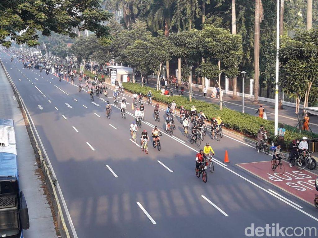 1.797 Personel Gabungan Siap Jaga 30 Kawasan Pesepeda di Jakarta Besok