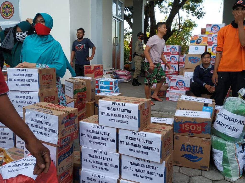 Pemkot Parepare Beri Bantuan untuk Korban Banjir Masamba