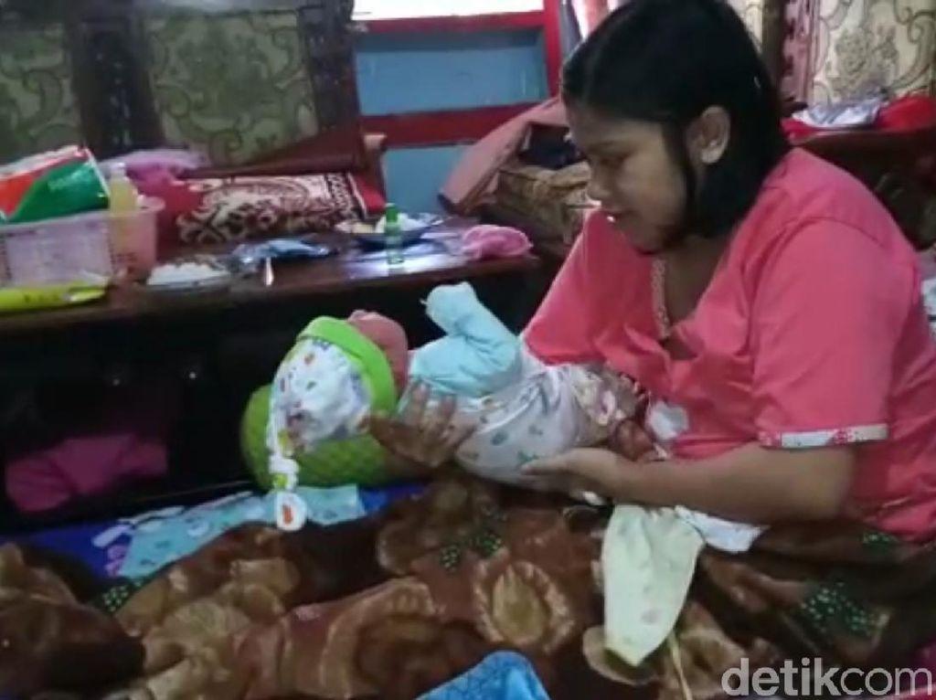 Geger, Ibu Hamil Satu Jam Melahirkan Bayi Laki-laki 3,4 Kg