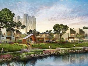 Miliki Rumah 2 Lantai di Selatan Jakarta, LRT dan Kampus dalam Kawasan