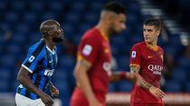 Penalti Lukaku Selamatkan Inter dari Kekalahan Lawan Roma
