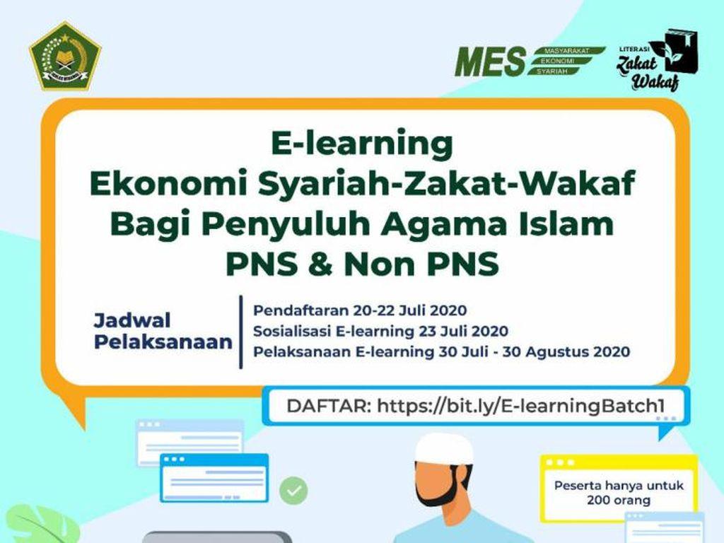 Pendaftaran E-Learning Batch 1 bagi Penyuluh Agama Islam Dibuka Hari ini