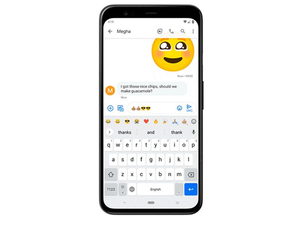 Gboard Bakal Punya Shortcut untuk Emoji