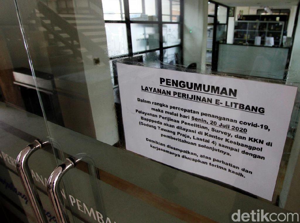 Kantor Balai Kota Solo Ditutup Imbas ASN Positif Corona