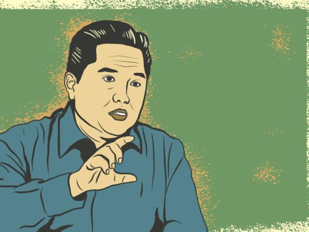 Erick Thohir Rombak Direksi Surveyor Indonesia, Ini Susunannya