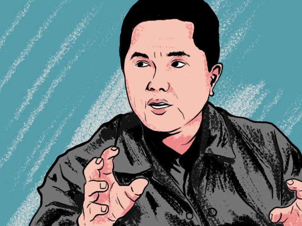 Janji Erick Thohir: 5% Bos BUMN Bakal Diisi Milenial