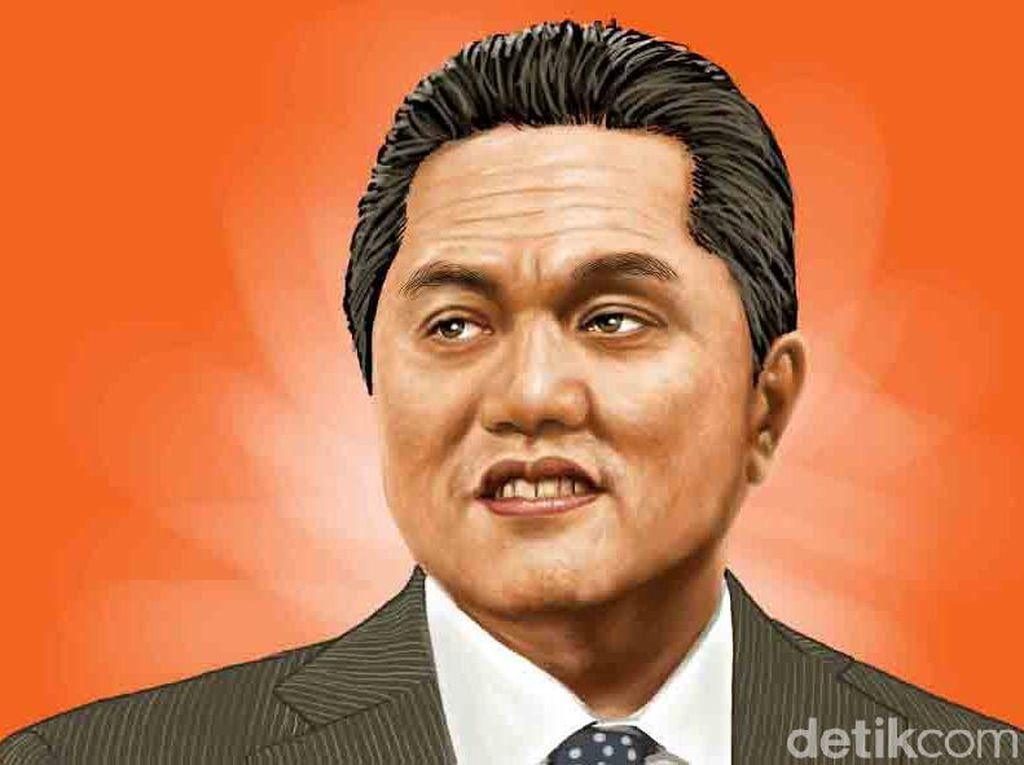 Erick Thohir Nakhodai Komite Pemulihan Ekonomi dan Penanganan Corona