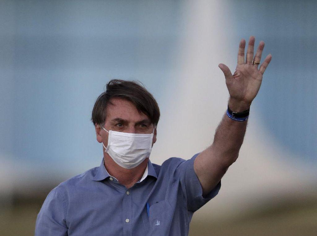 Dukungan untuk Presiden Brasil Turun di Tengah Pandemi Corona