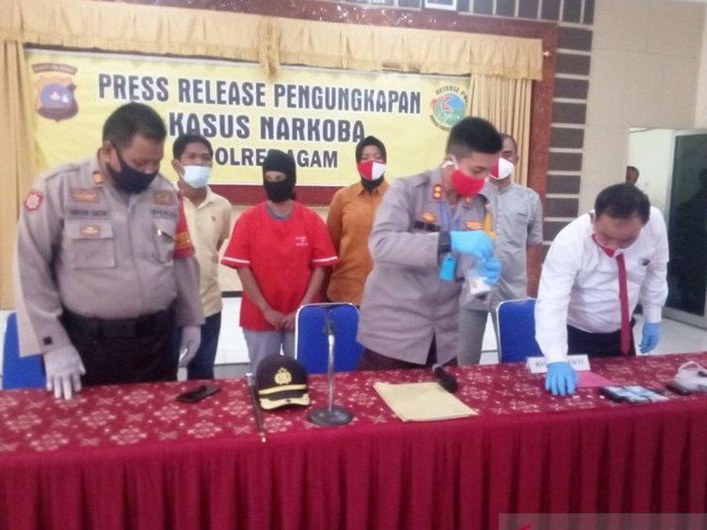IRT Target Polda-BNN Diciduk, Kelabui Petugas Simpan Sabu di Celana Dalam