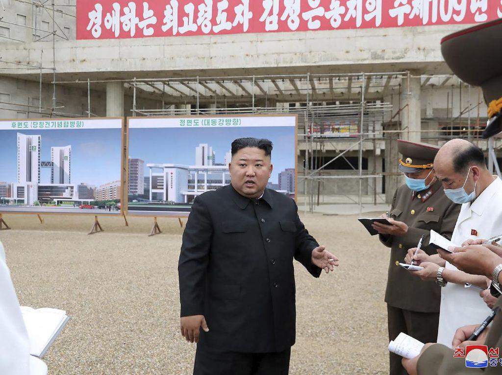 Kim Jong-Un Marah-marah ke Pejabat Korut Soal Pembangunan RS