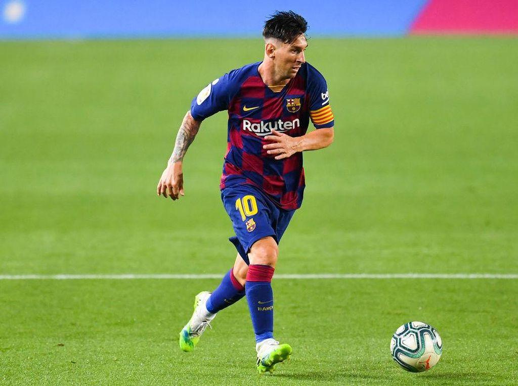 Lionel Messi Top Skor Liga Spanyol, Benzema Runner-up