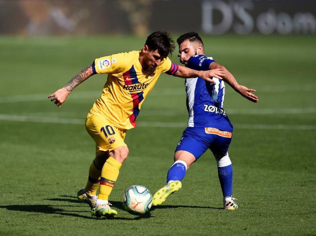 Lionel Messi Bikin Rekor 21 Assist di Liga Spanyol