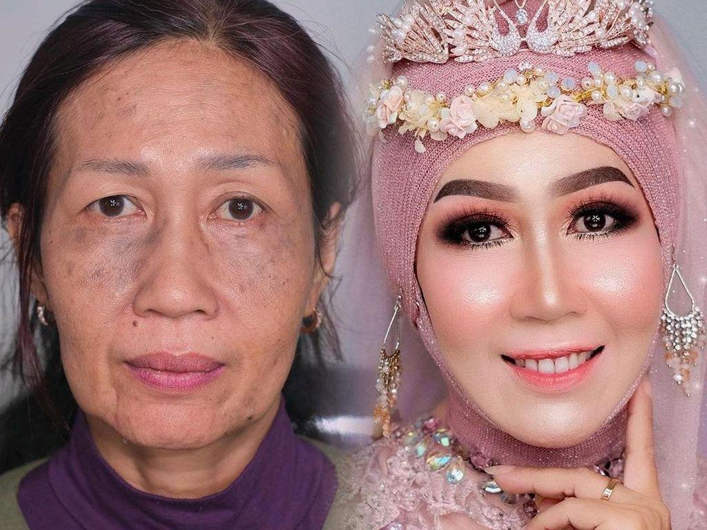 Rahasia Makeup Ari Izam, Makeup Artist Viral Dandani Nenek-nenek Jadi Remaja