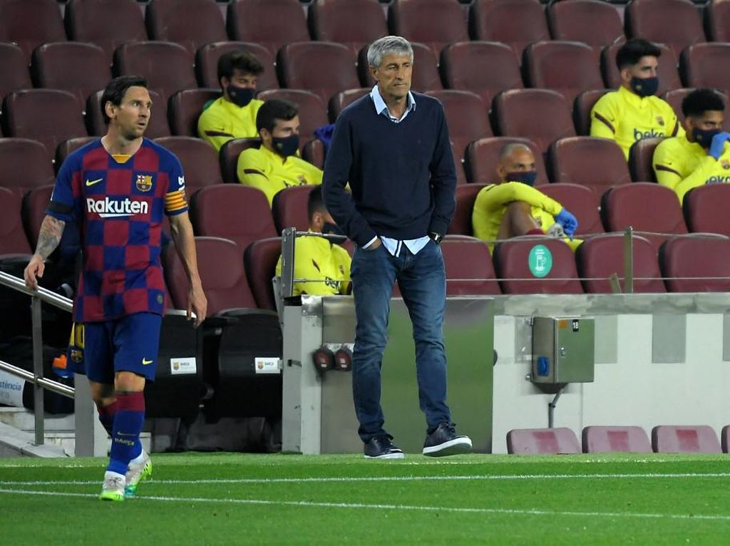Lionel Messi dan Quique Setien Sempat Bertengkar Hebat di Barcelona?